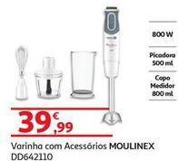 Oferta de Batedeira de varinhas Moulinex por 39,99€