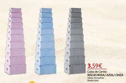 Oferta de Caixas por 3,59€
