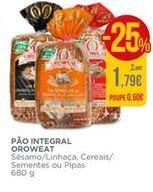 Oferta de Pão Oroweat por 1,79€