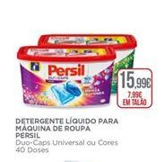 Oferta de Detergente líquido Persil por 15,99€