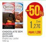 Oferta de Chocolate sem açúcar Guylian por 1,27€