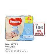 Oferta de Toalhitas multiusos Huggies por 7,99€
