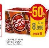 Oferta de Cerveja Super Bock por 8,99€