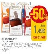 Oferta de Chocolates Guylian por 1,49€