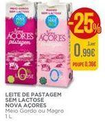 Oferta de Leite sem lactose Nova Açores por 0,99€
