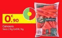 Oferta de Cenouras por 0,9€