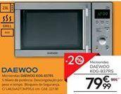 Oferta de Microondas Daewoo por 79,99€