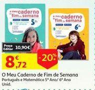 Oferta de Cadernos por 8,72€