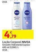 Oferta de Loção hidratante Nivea por 4,79€