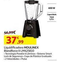 Oferta de Liquidificador Moulinex por 37,99€