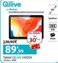 Oferta de Tablet Qilive por 89,99€