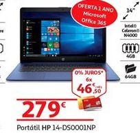 Oferta de Notebook HP por 279€