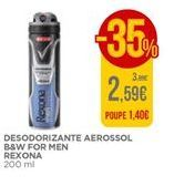 Oferta de Desodorante Rexona por 2,59€