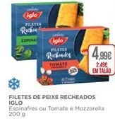 Oferta de Palitos de peixe Iglo por 2,49€