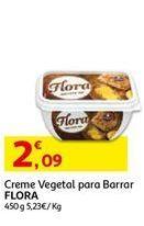 Oferta de Margarina vegetal Flora por 2,09€