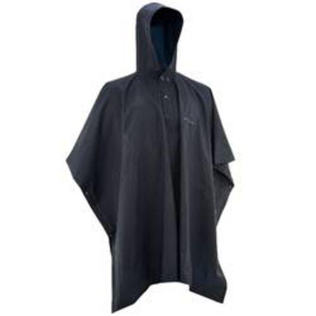 Oferta de Poncho de caminhada para chuva - 10L Azul por 5,9€