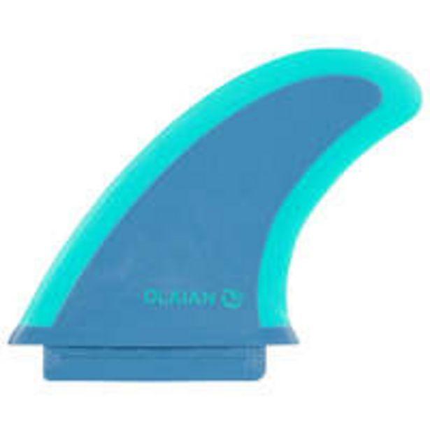 Oferta de OLAIAN Quilha de surf soft edge 4,5'' azul verde 900 soft 7'' por 5€