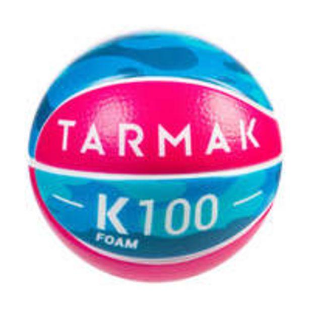 Oferta de TARMAK Minibola K100. Minibola Basquetebol em Espuma Criança até aos 4 Anos Tamanho 1. por 3€