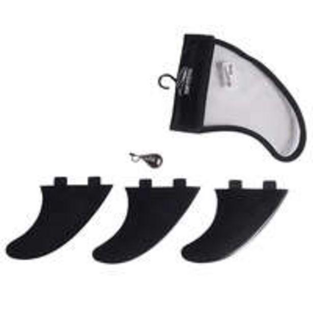 Oferta de SURFSYSTEM 3 quilhas pretas compatíveis caixas FCS. por 22€