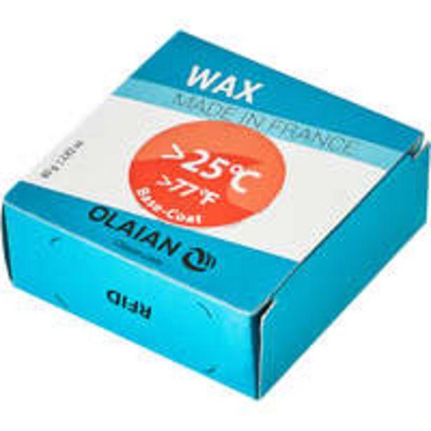 Oferta de OLAIAN Wax Surf Águas tropicais + 25°c e base coat por 2€