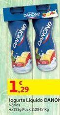 Oferta de Iogurte Danone por 1,29€