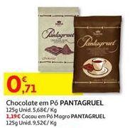 Oferta de Chocolate em pó pantagruel por 0,71€