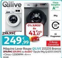 Oferta de Máquina lavar roupa Qilive por 249,99€