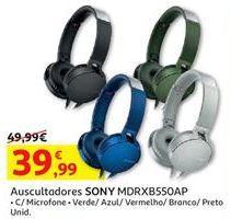 Oferta de Auscultadores Sony por 39,99€