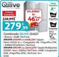 Oferta de Frigorífico combinada Qilive por 279,99€