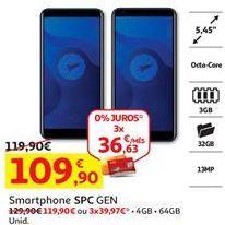 Oferta de Smartphones por 109,9€