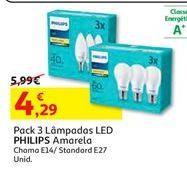 Oferta de Lâmpada led Philips por 4,29€