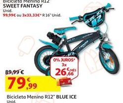 Oferta de Bicicleta infantil por 79,99€