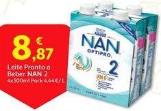 Oferta de Leite Nestlé por 8,87€