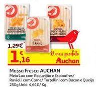 Oferta de Massas Auchan por 1,16€