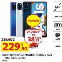 Oferta de Smartphones Samsung por 229,9€
