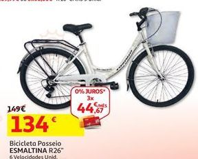 Oferta de Bicicleta por 134€