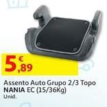Oferta de Assento auto por 5,89€