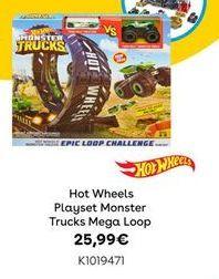 Oferta de Playset de veículos Hot Wheels por 25,99€