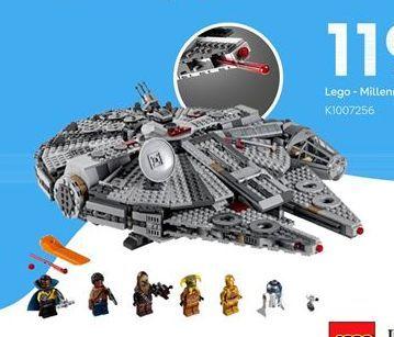 Oferta de LEGO star wars por 119,99€