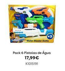 Oferta de Pistola de água por 17,99€