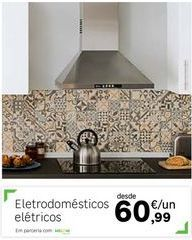 Oferta de Eletrodomésticos por 60,99€