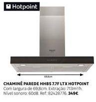Oferta de Exaustor Hotpoint por 349€