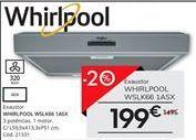 Oferta de Exaustor Whirlpool por 199€