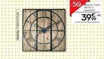 Oferta de Relógio de parede por 39,99€