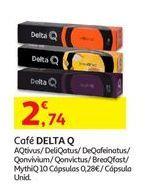 Oferta de Cápsulas de café Delta Q por 2,74€