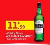 Oferta de Whisky escocês William Lawson's por 11,59€