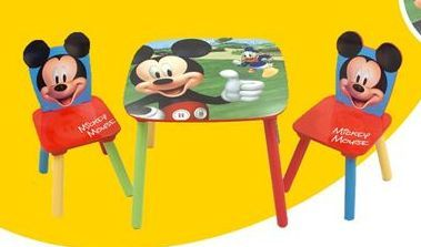 Oferta de Conjunto de mesa e cadeiras por 59,99€