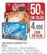 Oferta de Cornetto por 2,49€