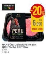 Oferta de Hamburguer de perú por 6,99€
