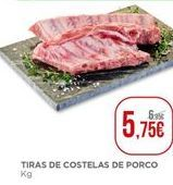 Oferta de Costela de porco por 5,75€